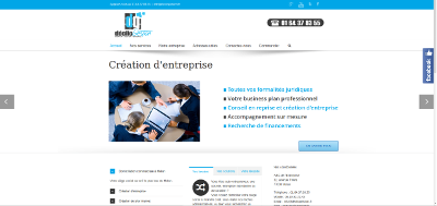 Site professionnel multi-pages DeclicGestion.fr